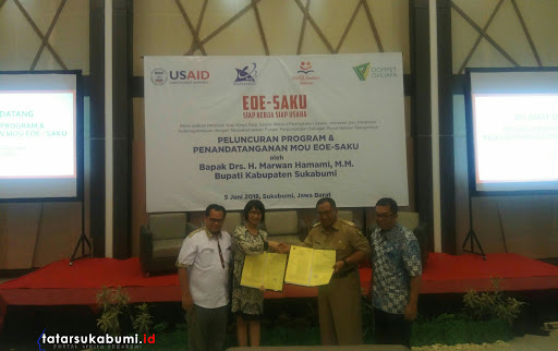 Pemkab Sukabumi Gandeng USAID, Coca Cola, dan Dompet Dhuafa Republika Foundation Gelar Program SAKU
