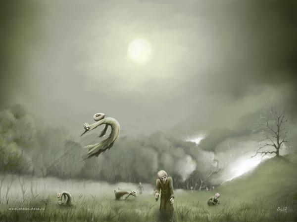 Dream Of Horror Landscape 2, Magical Landscapes 4