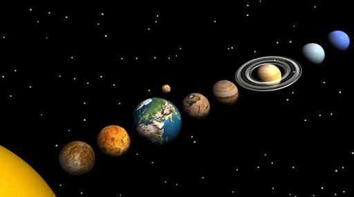Quem deu nome aos planetas do sistema solar