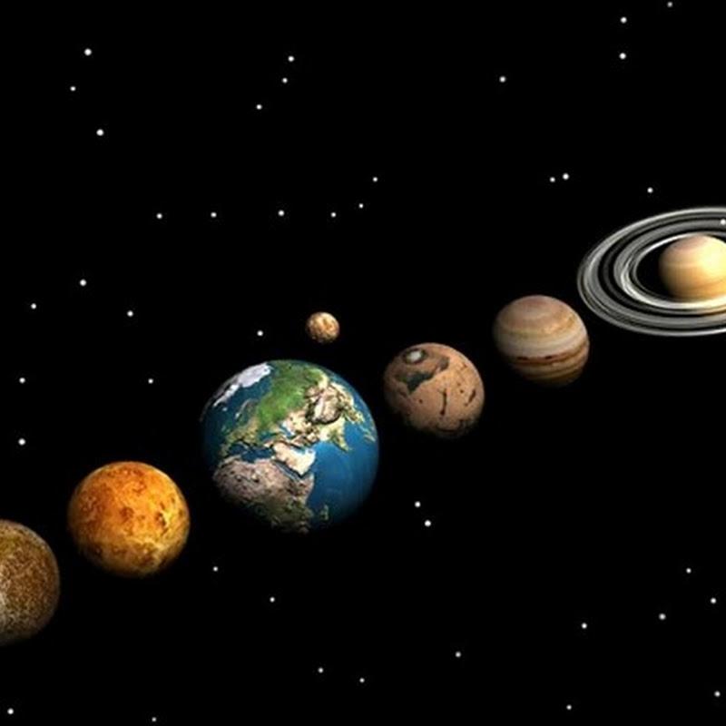 Quem deu nome aos planetas do sistema solar?