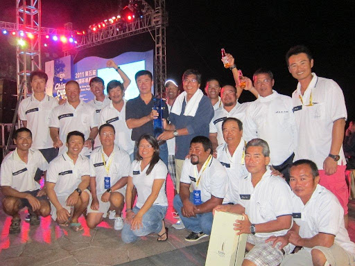 '2011 China Cup International Regatta' Winners in Jelik 2. Photo copyright Daniel Forster & China Cup.