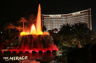 The Volcano at the Mirage Hotel and Casino