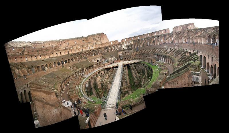 Stitching panorama shots