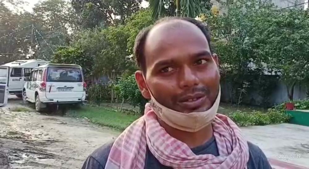 दिनदहाड़े अपराधियों ने डिलीवरी ब्वाय से लूट की  घटना को दिया  अंजाम...