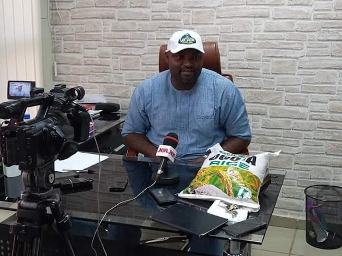 50kg OGOJA RICE SELLS FOR N15,000 AS GOV AYADE, OTHERS LAUNCH Santuscom Agro - hub PARK TOMORROW