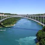 Мост через Ниагару между Канадой и США
