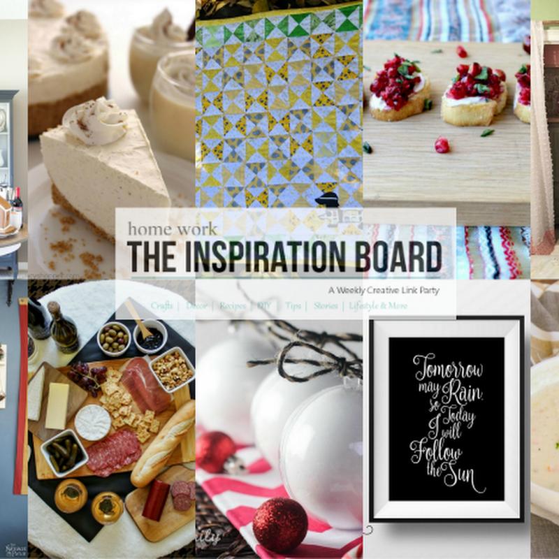 THE INSPIRATION BOARD: Spotlight 286 | White Christmas