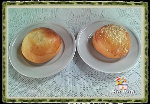 Pão para hamburguer 1