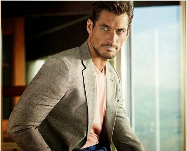 Marks and Spencer Menswear, campaña PV 2014: David Gandy