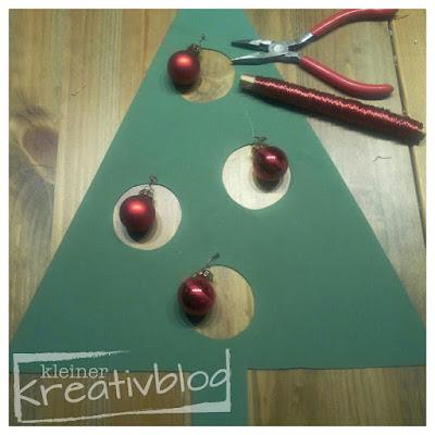 www.kleiner-kreativblog.de: Weihnachtliche Fensterdeko