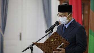 Gubernur Jawa Barat Lantik Lima Pejabat Baru Pimpinan Tinggi