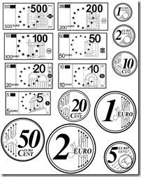 euros billetes y monedas (3)