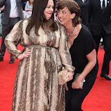 ENTSIMAGES.COM - Melissa McCarthy and Miranda Hart  at the Spy - UK film premiere Odeon Leicester Square London 27th May 2015 Photo Mobis Photos/OIC 0203 174 1069