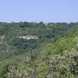 Les Hautes-Courennes, 550 m, vues depuis le Plateau de Coupon. Saint-Martin-de-Castillon (Vaucluse), 24 juin 2015. Photo : J.-M. Gayman