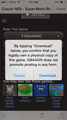 Download Gameboy iOS