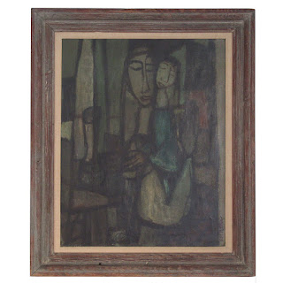 Samuel Adler Signed Oil Painting