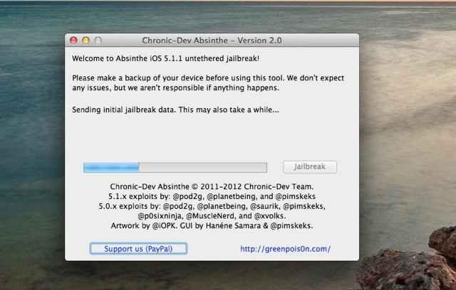 Jailbreak en iOS 5.1.1