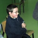 Kacper. Najmłodszy uczestnik.