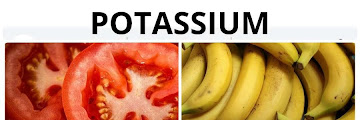 Benefits of Potassium for Health and Natural Foods Containing Potassium