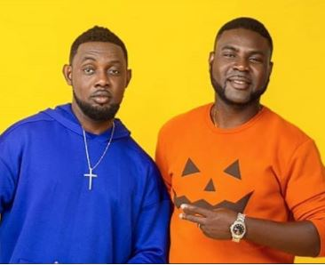 GHEN GHEN! Comedian AY And His Brother Lanre Makun Nearly Came To Blows Back-Stage At AY Live