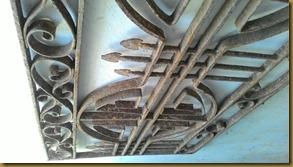 Ornamen antik ventilasi udara rumah belanda