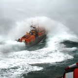 12 June 2011 - Going ... ALB during exercise in rough weather (southerly force 7, gusting 8, heavy rain). ALB encountering 4.5m seas. (Photo credit: Rob Inett)
