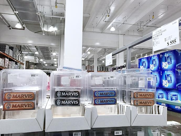 0 Marvis 好市多購物 義大利牙膏 牙膏界愛馬仕