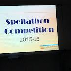 Spellathon Competition (Grade I-IV, VII-VIII) 6-7-2015