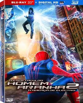 O Espetacular Homem-Aranha 2: A Ameaça de Electro (2014) BRrip Blu-Ray 3D Dublado Torrent Download