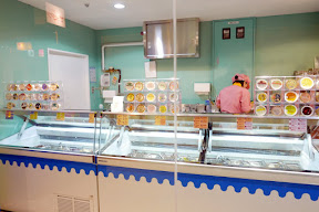 One of the shops at Namja Town had a LOT of ice cream flavors - I think this is the reduced version of what used to be Ice Cream City when it first opened in 2003. They have really unusual flavors like eel ice cream, wasabi ice cream, sake ice cream, sea urchin ice cream, etc.