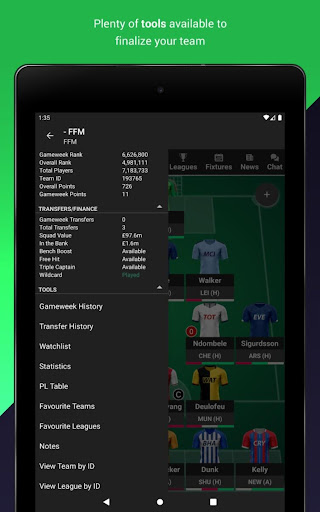 Fantasy Football Manager for Premier League (FPL) 8.4.1 screenshots 11