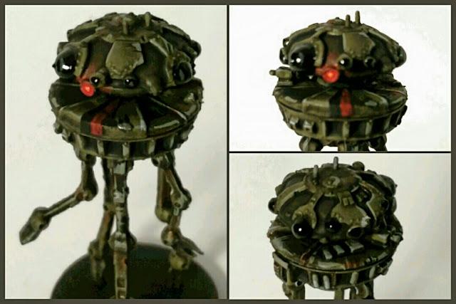 Imperial Probe Droid pintado por Xela