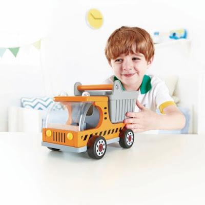 Xe ô tô tải bằng gỗ Hape Dumper Truck E3013A cho trẻ trên 3 tuổi