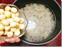 Chè nấm tuyết hạt sen (4)