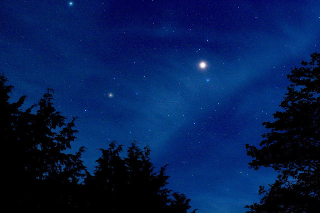 櫛形山 星 ニッコールオート50mm