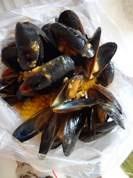 Delicious Chilean Mussels in Cajun Sauce