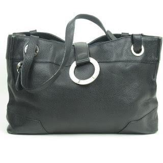 Bvlgari Leather Handbag & Pouch