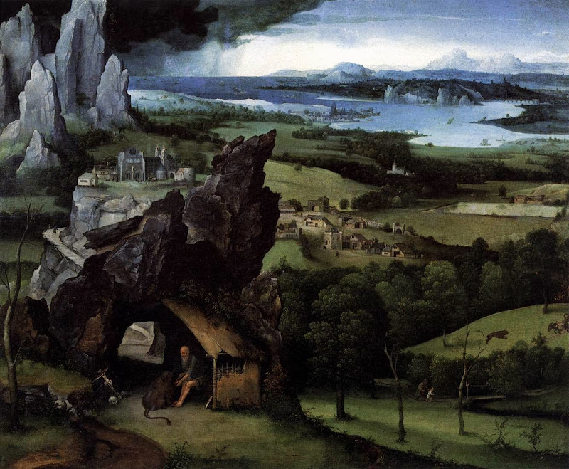 Joachim Patinir - Landscape with St Jerome