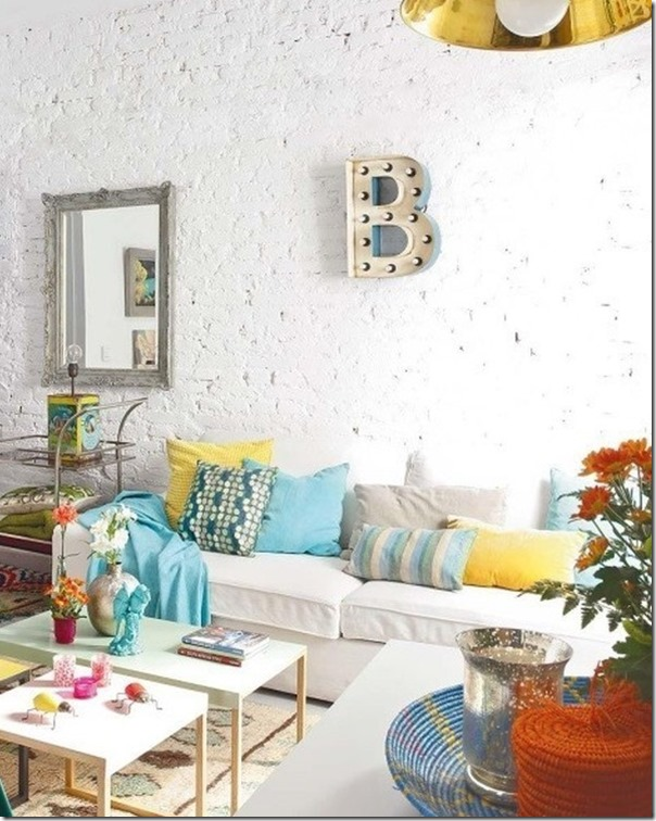 abbinare fantasie diverse nell'interior design