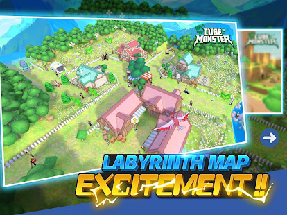 Cubemon 3D:MMORPG Monster Game 4