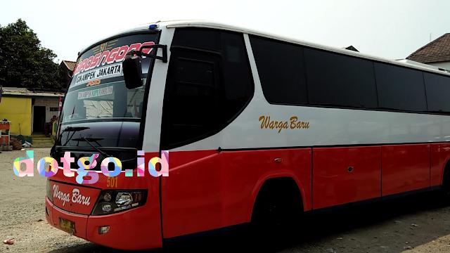 Bus warga baru cikampek rambutan, tanjung priok dan kalideres, tarif dan jadwal keberangkatan