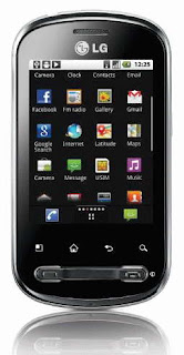LG Optimus Life Android Smartphone camera