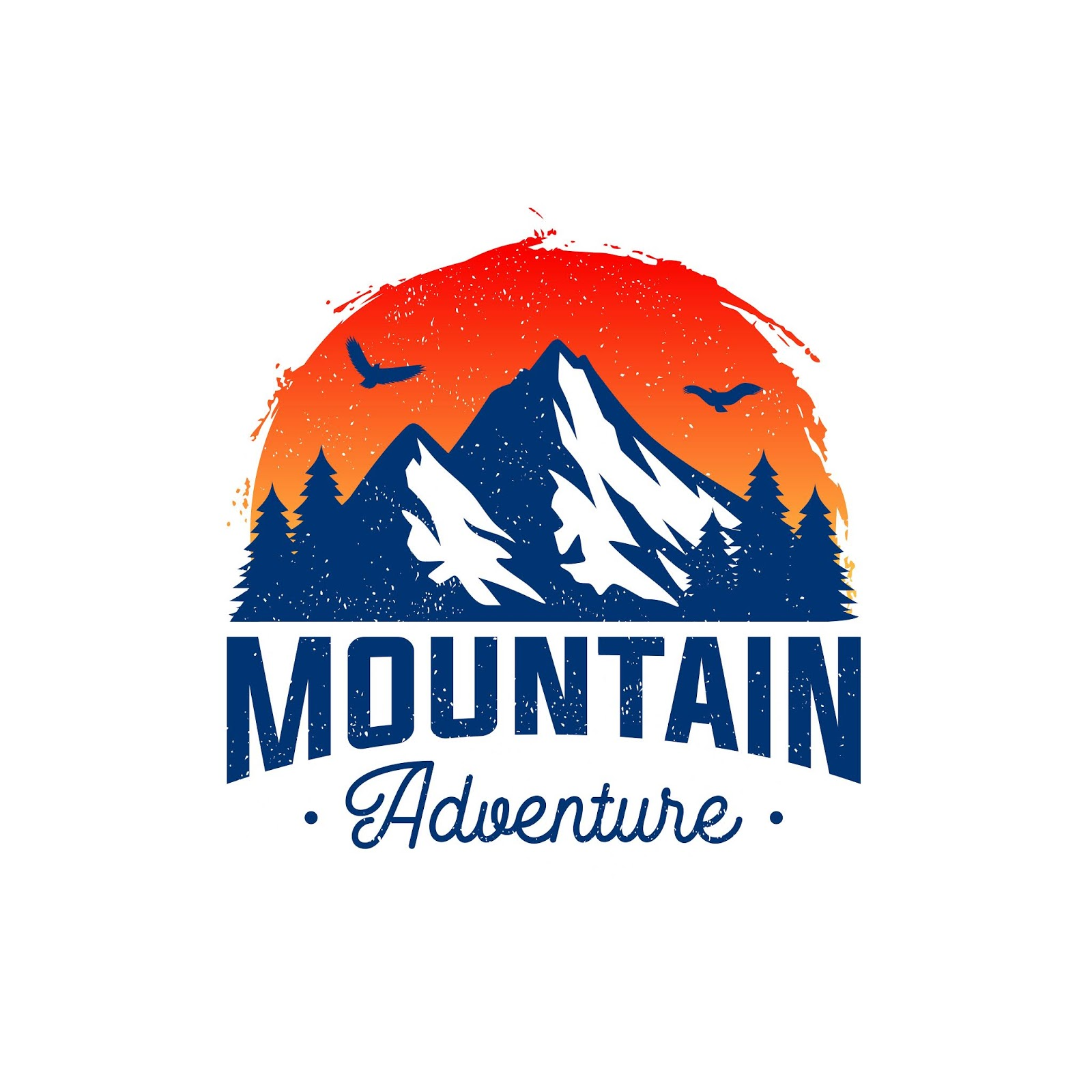 Mountain Logo Adventure Outdoor Logo Free Download Vector CDR, AI, EPS and PNG Formats