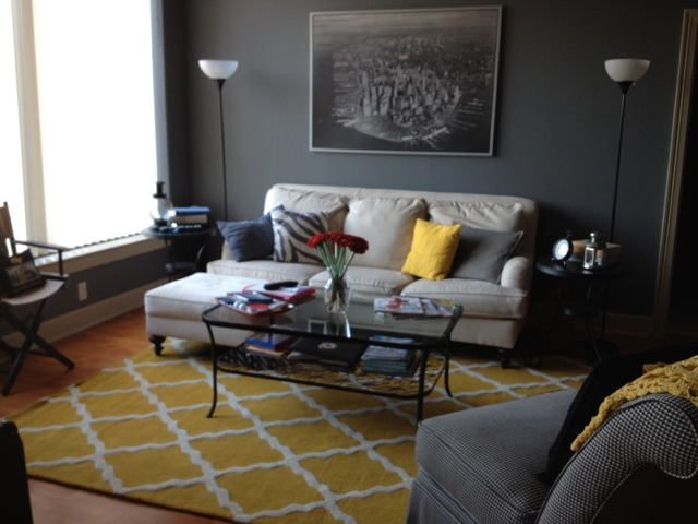 Buckhead betty on a budget living room decor complete - Tips on how to decorate a living room on a budget you have ...