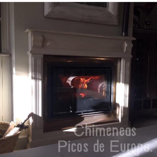 Chimeneas picos de europa presupuesto venta e for Instalacion de chimeneas