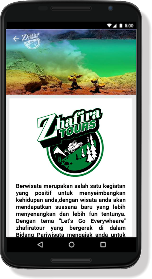 Zhafira Trans- screenshot