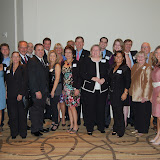 Theo Etzel, Hall of Fame Laureate, Collier 2011, with Family and Friends