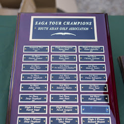SAGA Open 2015 Golfers in Action