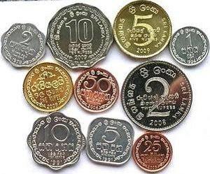 gambar mata uang rupee negara sri lanka koin atau logam