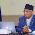 Before leaving Baluwatar, Prime Minister Oli will address the nation